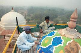 Going wow in Nizamuddin with urban renewal