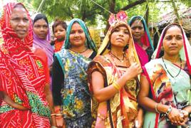 Elected Sahariya women swing into action