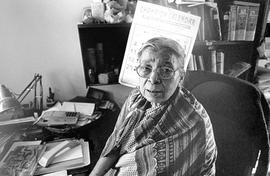 Mahasweta Devi, the compassionate writer