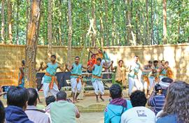 Theatre in the jungle attracts thousands