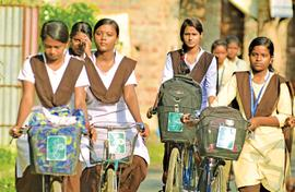 Impoverished girls of Medinipur find a friend in Kanyashree
