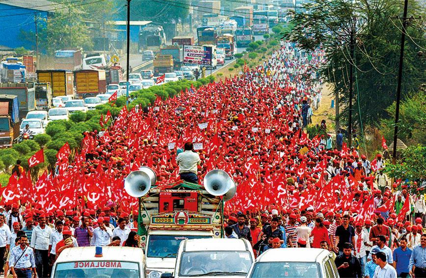 Kisan Sabha's long road to Mumbai march - Civil Society Magazine