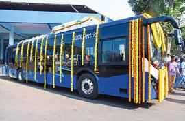 Goa does electric, biogas, ethanol bus trials