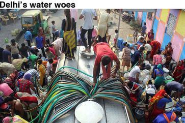 Delhi's water woes