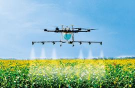 Drones, AI for better farms