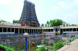 A cathedral in Madurai! Not just temples