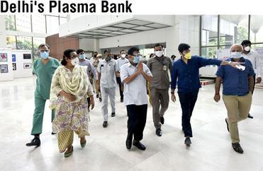 Delhi's Plasma Bank