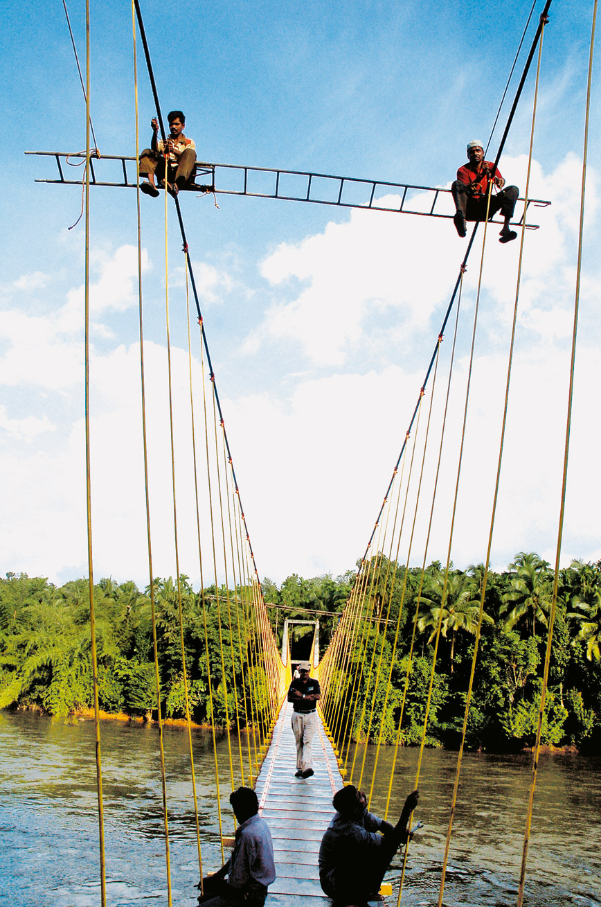 Dorable Wire Rope Bridge Picture Collection - Electrical Diagram ...